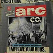 White Arc Poster