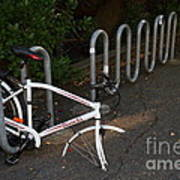 White Bicycle . 7d10119 Poster