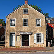 White Hall Tavern Harpers Ferry Virginia Poster