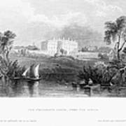 White House, 1839 Poster
