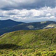 White Mountains New Hampshire Panorama Poster by Stephanie McDowell