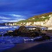 White Rocks Strand, County Antrim Poster