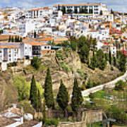 White Town Of Ronda Poster