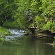 Whitewater River Spring 5 B Poster