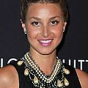 Whitney Port Wearing An Erickson Beamon Poster