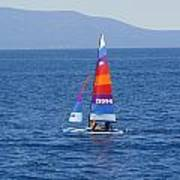 Wide Sail Poster