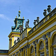 Wilanow Palace - Poland Poster