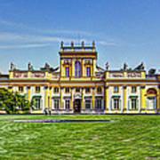 Wilanow Palace - Warsaw Poland Poster
