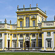 Wilanow Palace And Museum - Poland Poster