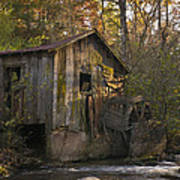 Wilbanks Mill On Dicks Creek Poster