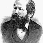 Wilhelm Steinitz (1836-1900) Poster