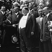 William Howard Taft 1857-1930 Receives Poster