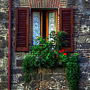 Window Assisi Poster