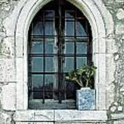Window Of A Chapel Poster