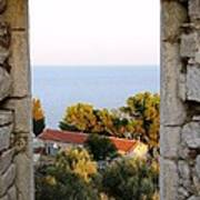 Window Of Sea Poster