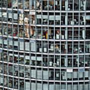 Windows Again, Berlin Poster by Eike Maschewski