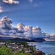 Windward Clouds Poster