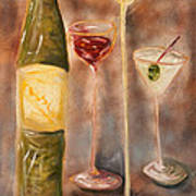 Wine Or Martini? Poster