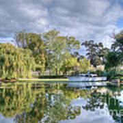 Winery Pond Poster
