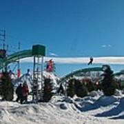 Winter Fun Quebec City Poster