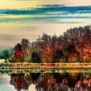 Winter Lake Fantasm Poster