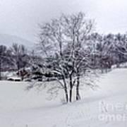 Winter Landscape 6 Poster