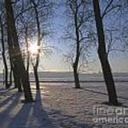 winter Peterburg Russia  Poster