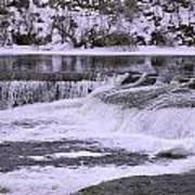 Winter Waterfalls Poster