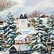 Wintertime In Vail 2286 Poster