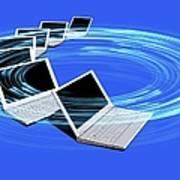 Wireless Internet, Conceptual Artwork Poster