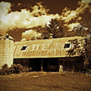 Wisconsin Hay Barn Poster