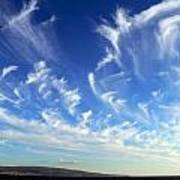 Wispy Clouds  Poster