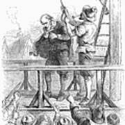 Witch Trial: Execution, 1692 Poster by Granger