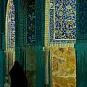 Woman In Mosque Poster