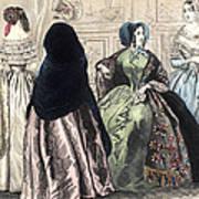 Womens Fashion, C1850 Poster