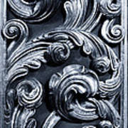 Wood Carving Patterns Poster