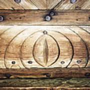 Wooden Doors Detail Poster