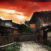Woodern Village Poster