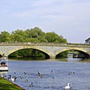 Workman Bridge And The River Avon Poster