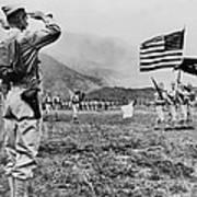 World War II, Brigadier General E.b Poster by Everett