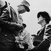 World War II. First Lady Eleanor Poster
