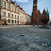Wroclaw Town Hall Poster