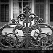 Wrought Iron Detail Poster