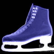 X-ray Of An Ice Skate Poster