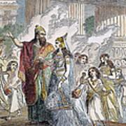 Xerxes I & Esther Poster