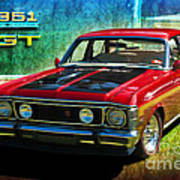 Xw Falcon 351gt Poster