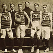 Yale Basketball Team, 1901 Poster by Granger