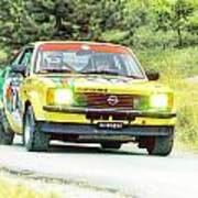 Yellow Opel Poster
