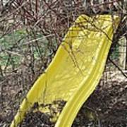 Yellow Slide Poster