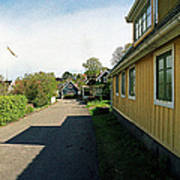 Yellow Summer House Poster